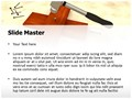 Hammer Nail Titanium Editable PowerPoint Template