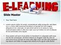 E-Learning Editable PowerPoint Template