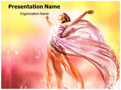 Beautiful Girls Editable PowerPoint Template