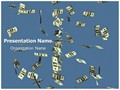 Money Rain Editable PowerPoint Template