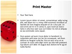 Dice Editable 3D Animated PPT Templates