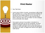 Idea Target Editable 3D Animated PPT Templates