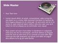 Turntable Editable PowerPoint Template