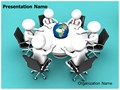 Global Business Meeting Editable PowerPoint Template