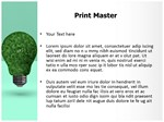Green Energy Saver Editable 3D Animated PPT Templates