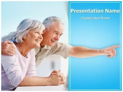 People Retirement Editable PowerPoint Template