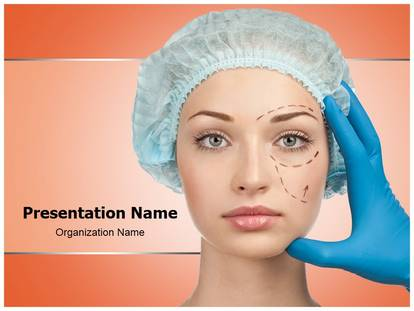 Free Plastic Surgery Medical Powerpoint Template For Medical