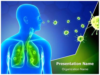 Free lung infection medical powerpoint template for medical lung infection powerpoint template toneelgroepblik Images