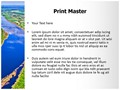 River Editable PowerPoint Template