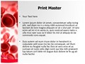 Blood Red Editable PowerPoint Template