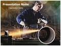 Steel Industry Editable PowerPoint Template
