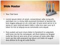 3D Rockets Editable PowerPoint Template