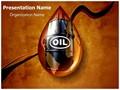 Oil Drop Editable PowerPoint Template