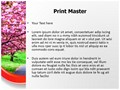 Blossoms Editable PowerPoint Template