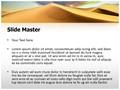 African Desert Editable PowerPoint Template