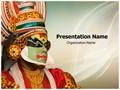 Kathakali Tradional Dance Editable PowerPoint Template