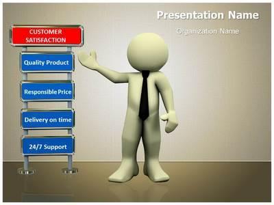 Customer Satisfaction Editable PowerPoint Template