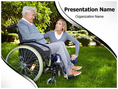 Free disability medical powerpoint template for medical powerpoint disability powerpoint template toneelgroepblik Image collections