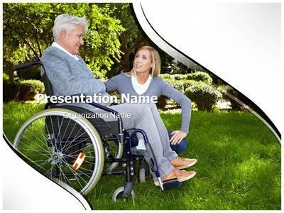 Disability Editable PowerPoint Template