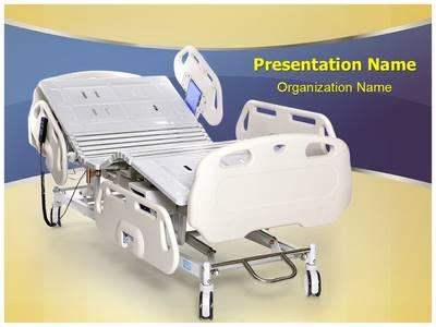 Hospital Stretcher Editable PowerPoint Template