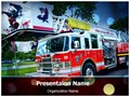 Fire Department Editable PowerPoint Template