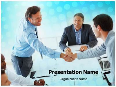 Business Deal Editable PowerPoint Template