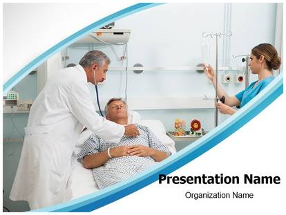 Free Intensive Care Medical PowerPoint Template for Medical