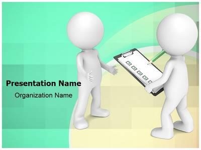 Survey Editable PowerPoint Template