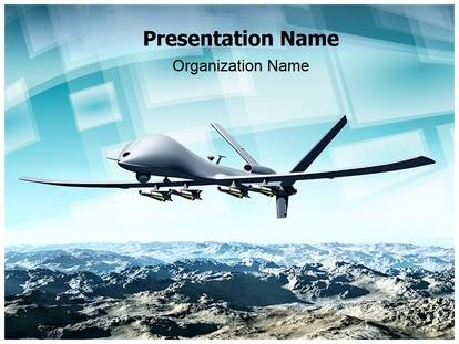 Professional drone aircraft editable powerpoint template drone aircraft powerpoint presentation template 00649 toneelgroepblik Image collections