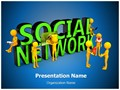 Social Network Editable PowerPoint Template