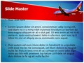Southwest Airlines Editable PowerPoint Template