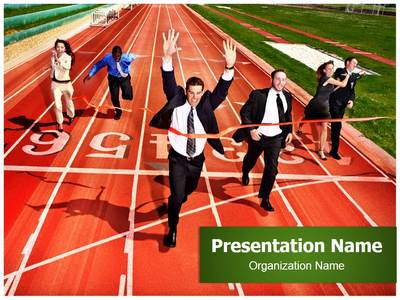 Business Competition Editable PowerPoint Template