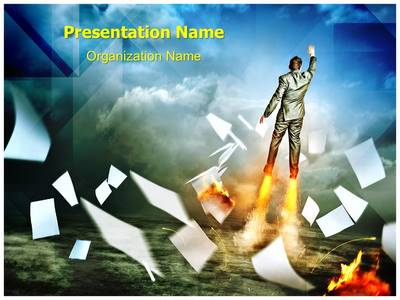 Acceleration Editable PowerPoint Template