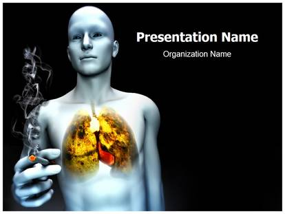 Free Cancer Cause Medical Powerpoint Template For Medical Powerpoint Presentations