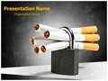 No Smoking Editable PowerPoint Template