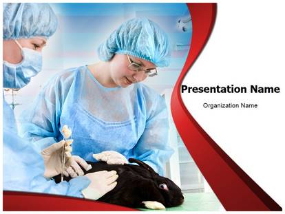 Free Veterinary Medical Powerpoint Template For Medical Powerpoint Presentations