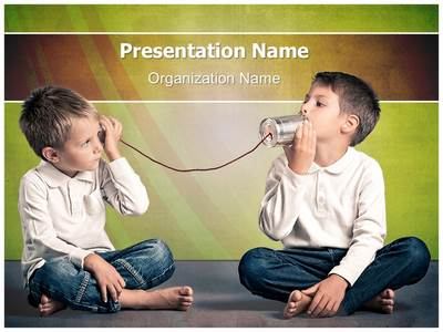 Alexander Graham Bell Discovery Editable PowerPoint Template
