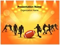 American Rugby Sports Editable PowerPoint Template