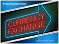 Traveling Currency Exchange Editable PowerPoint Template