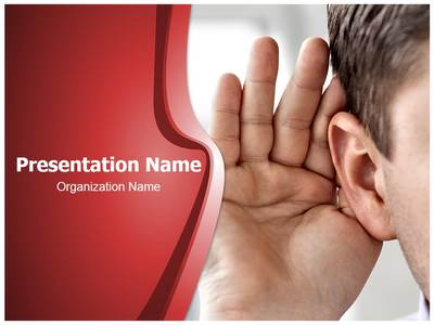 Effective Listening Editable PowerPoint Template