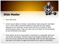 Prisoner In Uniform Editable PowerPoint Template
