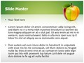 Mixed Fruit Apple Editable PowerPoint Template