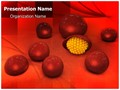Malaria T Cells Editable PowerPoint Template