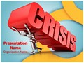Manager Business Crisis Editable PowerPoint Template