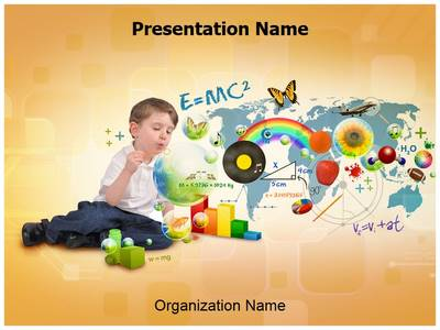 Elementary Education Editable PowerPoint Template