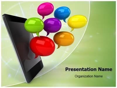 Smartphone Editable PowerPoint Template