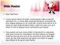 Santa Claus Snowfall Editable PowerPoint Template