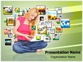 Mobile Library Editable PowerPoint Template