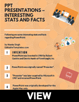 Interesting Stats and Facts of PowerPoint