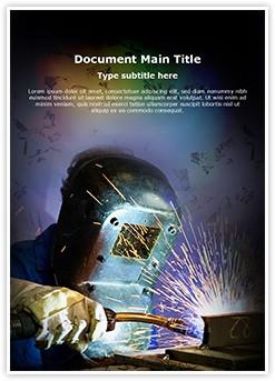 welding helmet Editable Word Template